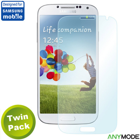 Anymode Samsung Galaxy S4 Anti-Fingerprint Screen Protector