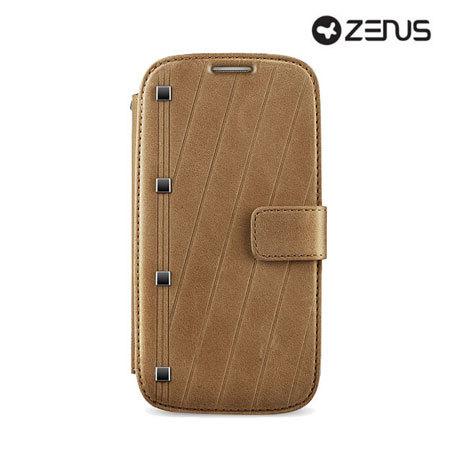 Zenus Prestige Neo Vintage Diary for Samsung Galaxy S4 - Brown
