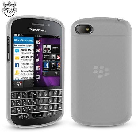 FlexiShield Case for BlackBerry Q10 - White