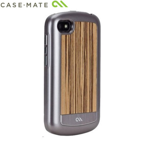 Case-Mate Artistry Woods Case for BlackBerry Q10 - Zebrawood