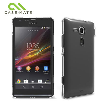 low priced a6983 a37fe Case-Mate Barely There for Sony Xperia SP - Clear