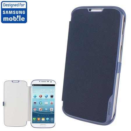 [MOBILEFUN.FR] Book Flip Cover officielle Samsung Galaxy S4 – Bleue 38992