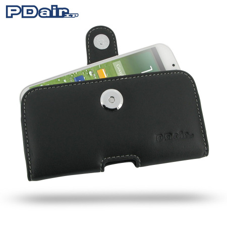PDair Horizontal Leather Pouch Case - Samsung Galaxy S4