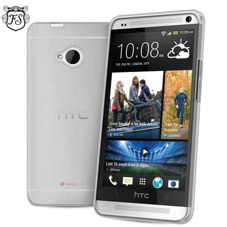 FlexiShield Case for HTC One M7 - 100% Clear