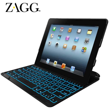 ZAGGkeys PROfolio+ Keyboard Case for Apple iPad 2 / 3 / 4 - Black