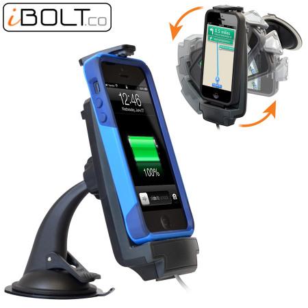 ibolt iprodock 5 active vehicle dock for iphone 5s 5c 5
