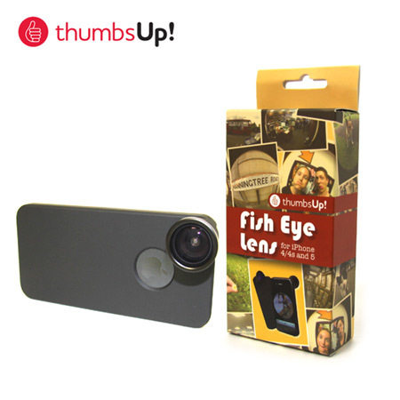 thumbsup! Fish Eye Lens for iPhone 4 / 5 / 5S