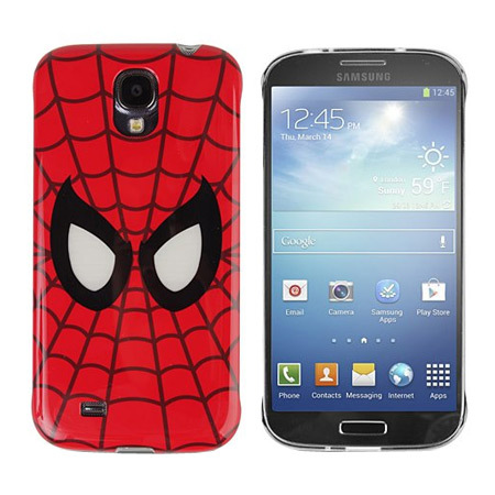 samsung galaxy s4 marvel spiderman beam case