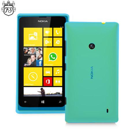 super popular fe7ee 61230 FlexiShield Case for Nokia Lumia 520 - Blue
