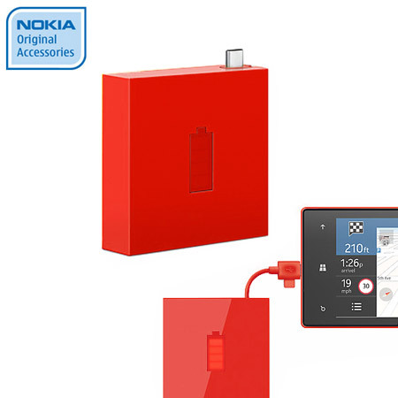 Nokia Universal Portable Micro USB Charger DC-18 - Red