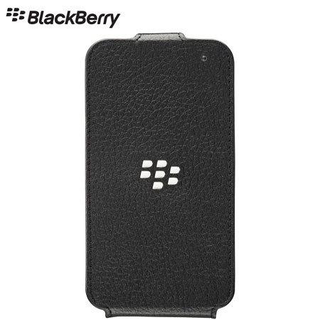 promo code 568e0 06323 BlackBerry Q5 Flip Shell Leather- Black
