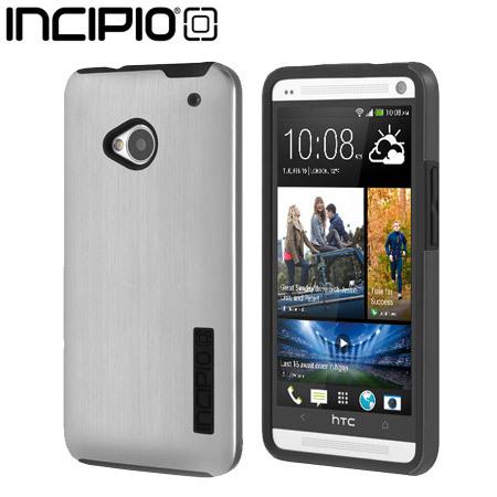 Incipio DualPro Shine Case for HTC One M7 - Silver / Black