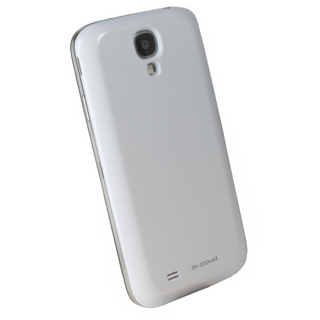 wholesale dealer a14d6 02003 Qi Samsung Galaxy S4 Wireless Charging Cover - White
