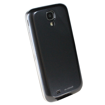 Qi Samsung Galaxy S4 Wireless Charging Cover - Black