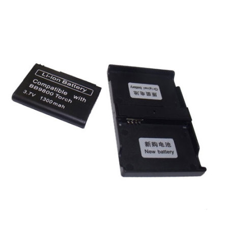 Replacement Battery for BlackBerry Torch 9800 with Converter