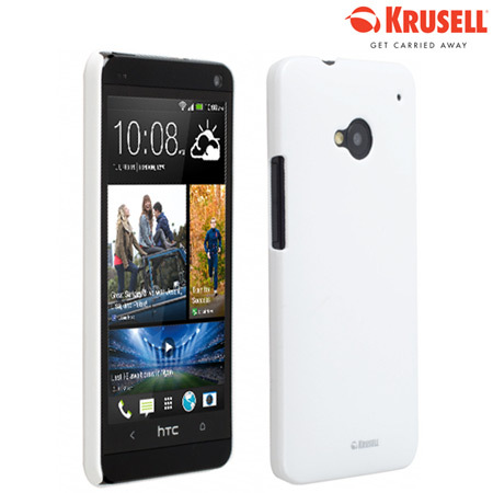 Krusell ColorCover Case for HTC One 2013 - White