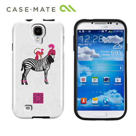 Case-Mate IOMOI Lucky Zebra Case For Samsung Galaxy S4