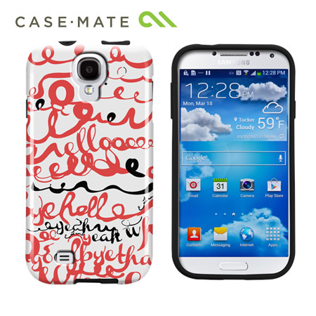 Case-Mate Elizabeth Lambs Doodles Case For Samsung Galaxy S4