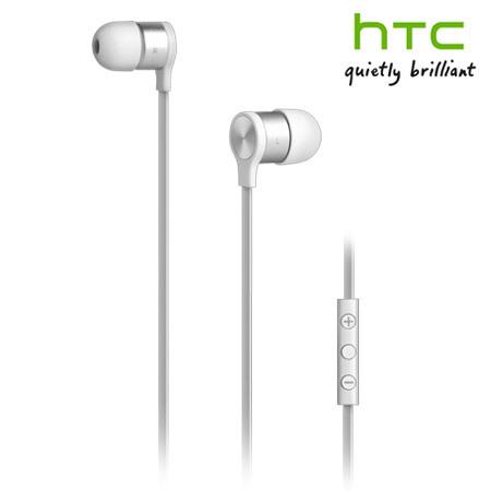 Ecouteurs Kit mains libres avec câble plat HTC Officiels – Blancs