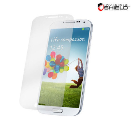 InvisibleSHIELD Protector HD for Samsung Galaxy S4