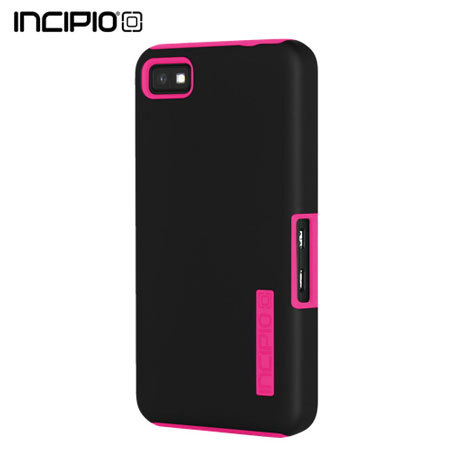 Incipio DualPro Case For Blackberry Z10 - Black/Neon Pink