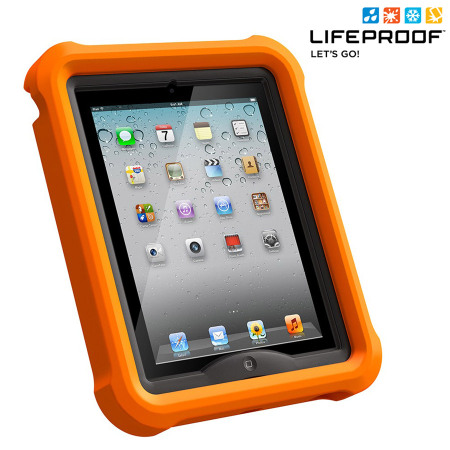 finest selection f1297 28b31 LifeProof LifeJacket Float Case for iPad 4 / 3 / 2 - Orange