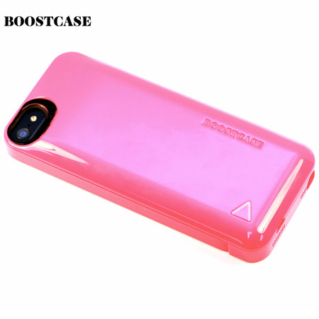 Boostcase Hybrid Snap Case - 1500Mah Battery for iPhone 5S / 5 - Coral