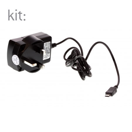 Kit: Micro USB 2.1A Mains Charger