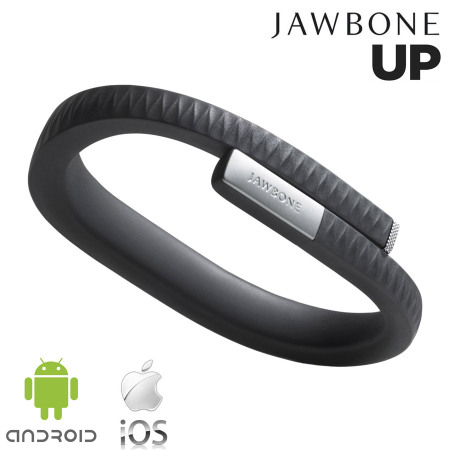 Jawbone UP Activity Tracking Wristband - Black - Medium