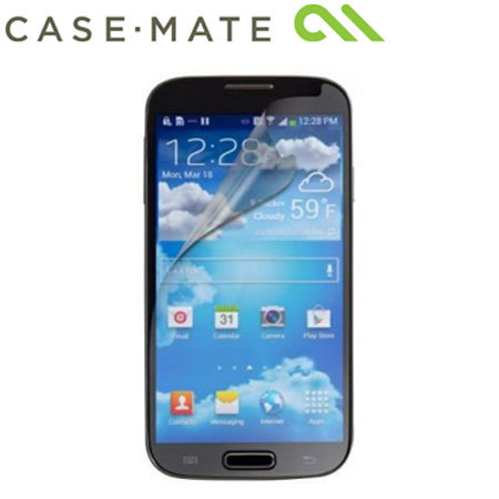 Case-Mate Screen Protector for Samsung Galaxy S4 Mini - Twin Pack