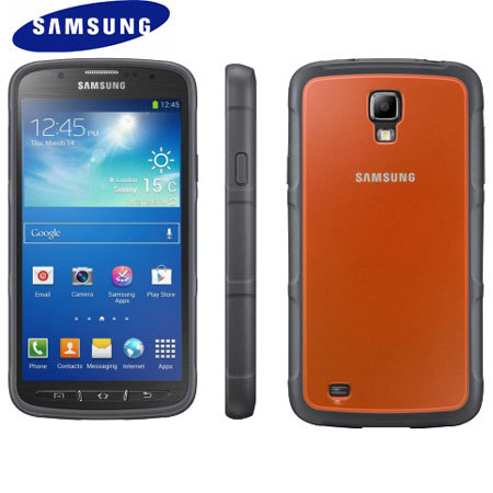 Official Samsung Galaxy S4 Active Protective Cover Plus - Orange