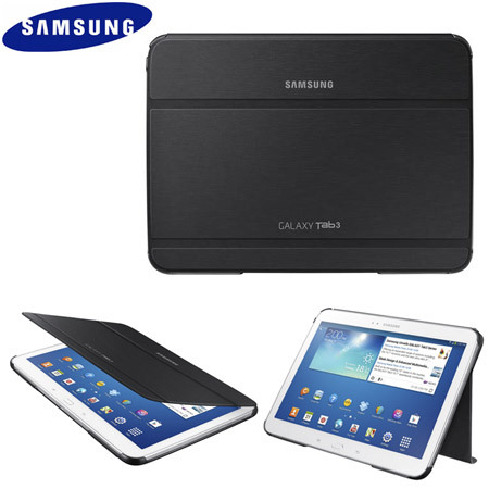 official samsung galaxy tab book cover black