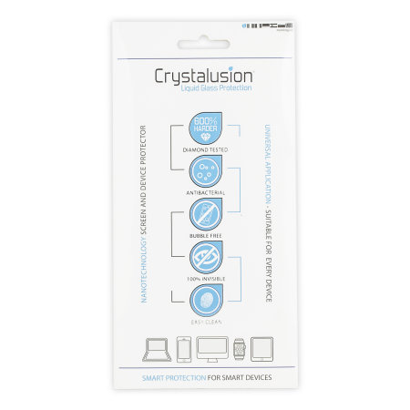 Crystalusion Liquid Glass skjermbeskytter