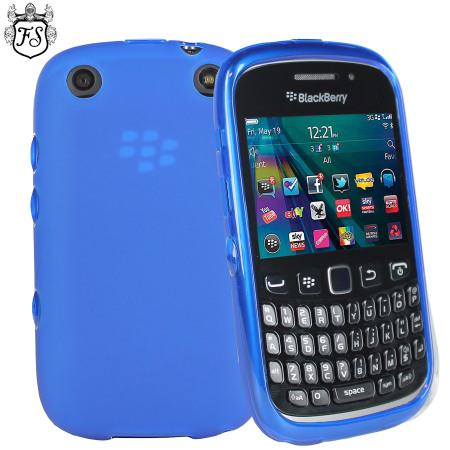 65879b361f9 Funda BlackBerry Curve 9320 FlexiShield - Azul