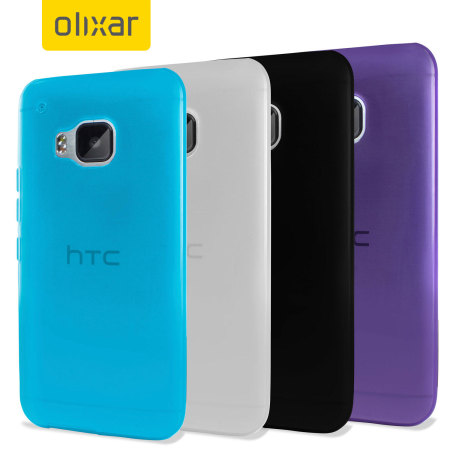 4 Pack FlexiShield HTC One M9 Cases
