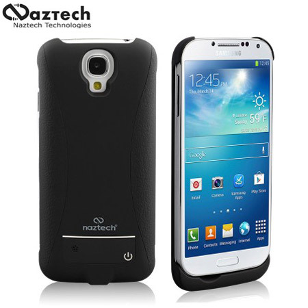 finest selection 9ac25 710a6 Naztech 3000mAh Power Case for Samsung Galaxy S4 - Black