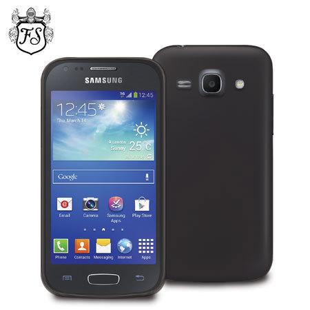 FlexiShield Case for Samsung Galaxy Ace 3 - Black