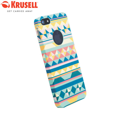 Krusell PrintCover Case for iPhone 5S / 5 - Green Inca