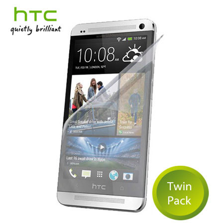 HTC SP-P920 Screen Protector for HTC One Mini - Twin Pack