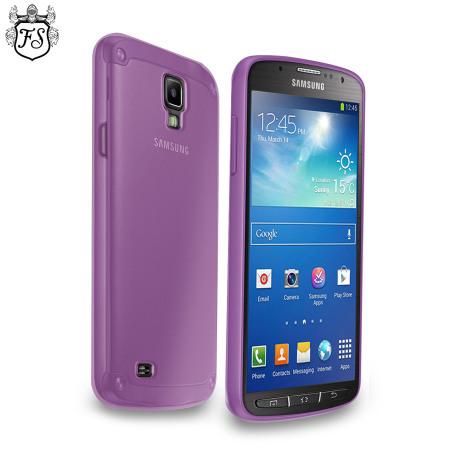 FlexiShield Case for Samsung Galaxy S4 Active - Smoke Purple