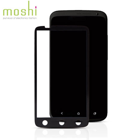 Moshi iVisor XT Screen Protector for HTC One M7 - Black