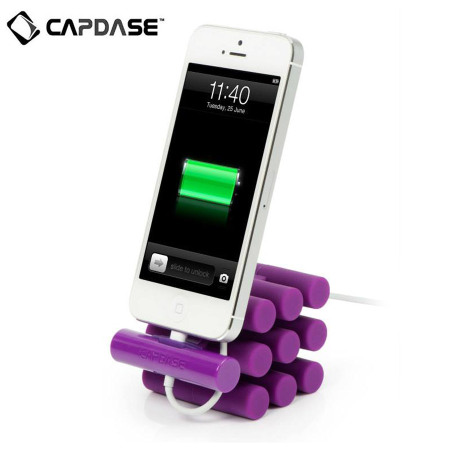 Capdase Versa Stand Apple iPhone and iPod Dock - Purple