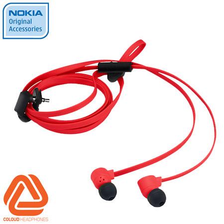 Ecouteurs Nokia Coloud Pop WH-510 - Rouge