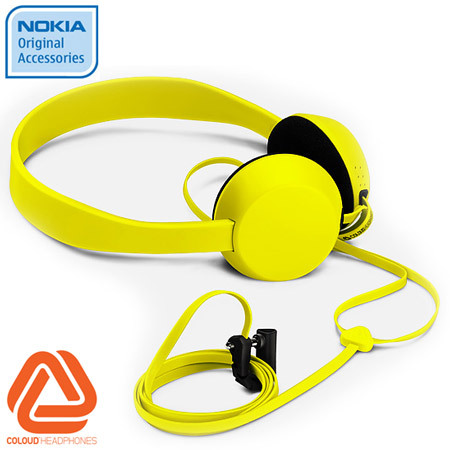 Coloud Knock Headphones - WH-520 - Yellow