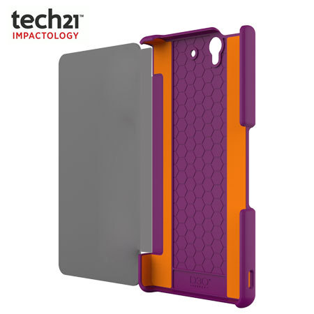 Tech21 Impact Snap with Cover for Sony Xperia Z - Purple