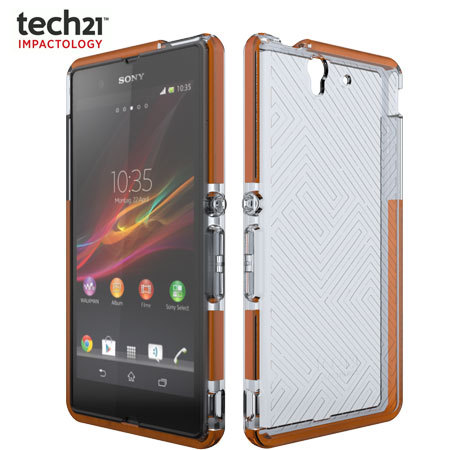 Tech21 Impact Maze for Sony Xperia Z - Clear