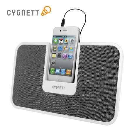 Cygnett CentreStage Speaker Stand System for Apple - White