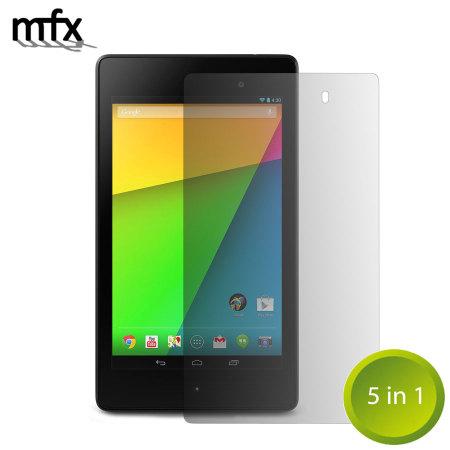 MFX 5-in-1 Screen Protectors for Google Nexus 7 2013