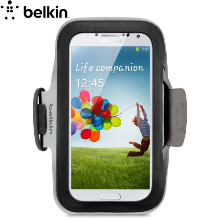 Belkin Samsung Galaxy S4 Slim-Fit Armband - Black