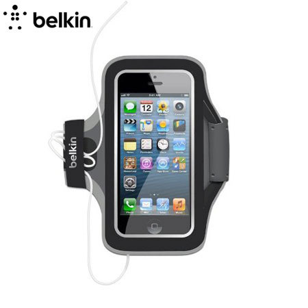iphone 5s armband belkin slim fit armband for iphone 5s 5 black 11162